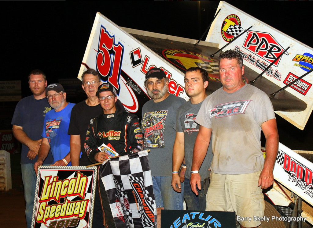 All Star Sprints >> FREDDIE RAHMER PICKS UP THIRD 410 SPRINT FEATURE WIN OF ...
